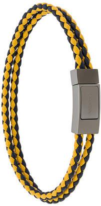 Prada double braided bracelet