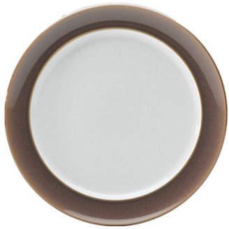 Denby Truffle Wide Rimmed Dessert Salad Plate