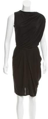 Costello Tagliapietra Sleeveless Gathered Dress