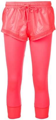 adidas by Stella McCartney layered shorts tights