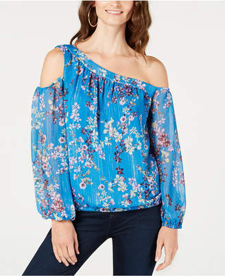 INC International Concepts I.N.C. Asymmetrical Cold-Shoulder Top, Created for Macy's