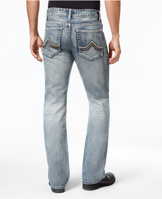 INC International Concepts Men's Modern Bootcut Faded Jeans, Only at Macy's $49.98 thestylecure.com