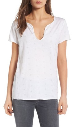 Women's Zadig & Voltaire Tunisien Embroidered Tee $98 thestylecure.com