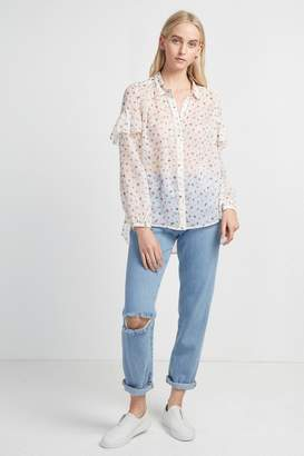 French Connenction Florence Crinkle Blouse