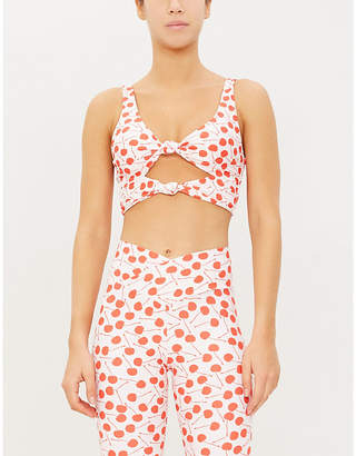 Beach Riot Bowie stretch-jersey top