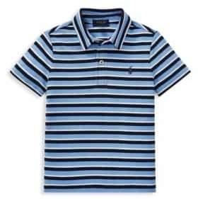 Ralph Lauren Little Boy's& Boy's Stripe Polo