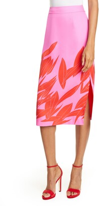 Ted Baker Luucas Sour Cherry Pencil Skirt