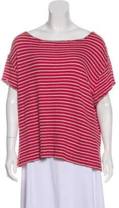Woolrich Short Sleeve Scoop Neck Top