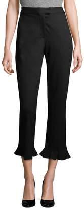 Ava & Aiden Women's Godet Cropped Pants