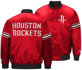 G-iii Sports Men Houston Rockets Draft Pick Starter Satin Jacket