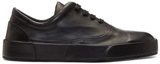 Jil Sander Black Leather Classic Sneakers