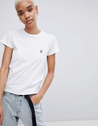 Carhartt WIP Shrunken T-Shirt With Embroidered Logo