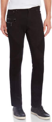 Versace Pantalone Textured Skinny Jeans
