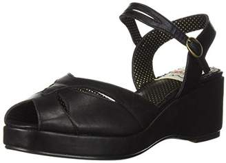 Bettie Page Women's BP242-NILEY Wedge Sandal
