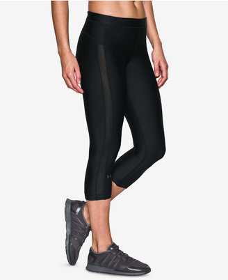 Under Armour Striped Training Capri Leggings $44.99 thestylecure.com