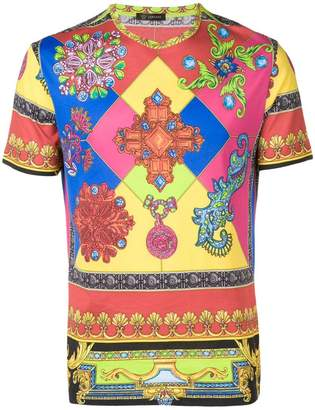Versace jewel print T-shirt
