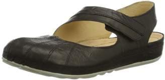 Dr. μ Dr. Brinkmann 710558 Clogs And Mules Women Black Schwarz (schwarz 1) Size: 39