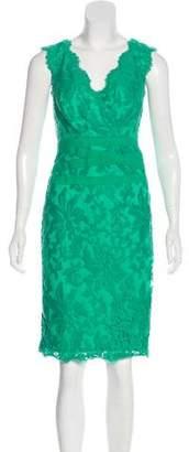 Tadashi Shoji Sleeveless Sheath Knee-Length Dress