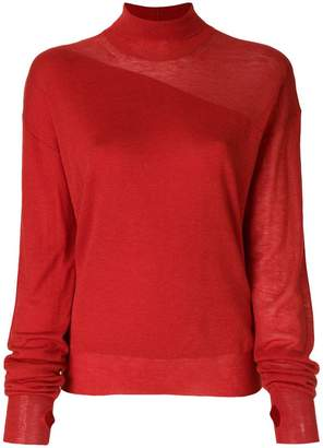 Helmut Lang turtle neck sweater