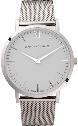 Larsson & Jennings CM Silver stainless steel watch