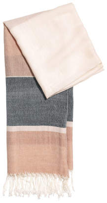 H&M Color-Block Scarf - Beige