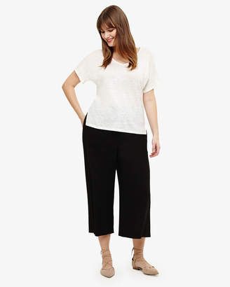 Phase Eight Caila Cropped Linen Trouser