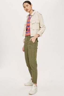 Tall khaki utility pants