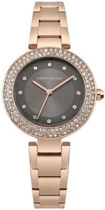 Karen Millen Crystal Embellished Watch