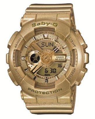 Baby-G (ベビーG) - [カシオ]Casio 腕時計 Baby-G ビッグケースシリーズ 【数量限定】 BA-111-9AJF レディース