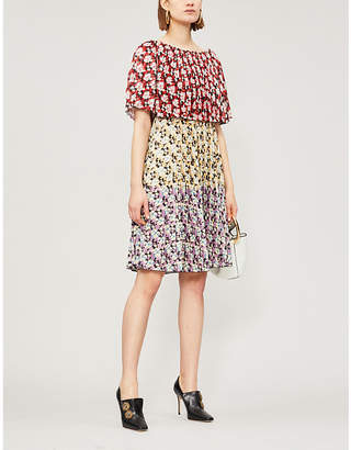 Valentino Off-the-shoudler woven dress
