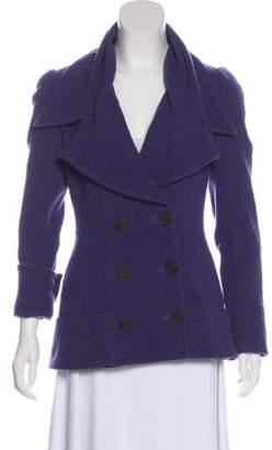 Karl Lagerfeld Paris Vintage Double-Breasted Jacket