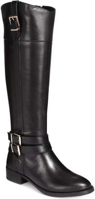 INC International Concepts I.N.C. Frankii Wide-Calf Riding Boots, Created for Macy's