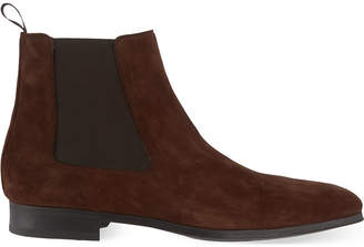 Magnanni Mens Brown Classic Chelsea Boots