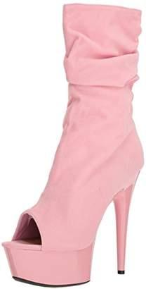 Ellie Shoes Women's 609-scrunch Ankle Bootie 6 US/6 M US