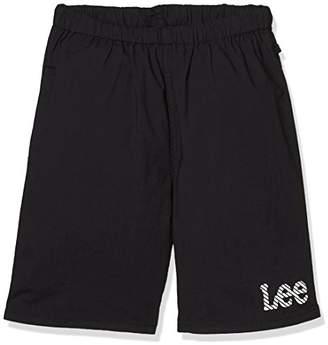 Lee (リー) - [リー] ベーシック ショーツ(140cm-160cm) キッズ LK1285 ブラック 日本 160 (日本サイズ160 相当)