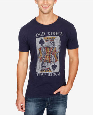 Lucky Brand Men Old King Poker Hall Graphic-Print T-Shirt