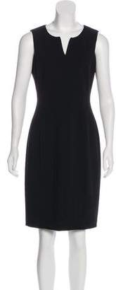 Calvin Klein Crepe Sheath Dress