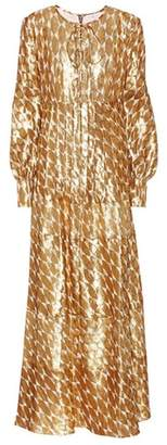 Tory Burch Silk-blend maxidress