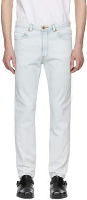 Bobson Wheir Blue Bleach Slim Jeans