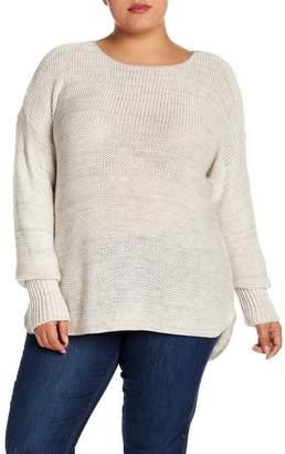 Susina Hi-Lo Knit Pullover (Plus Size)