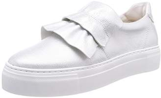 Marc O'Polo Women's Sneaker 80114463503101 Trainers, (Silver 165)