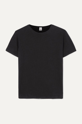 RE/DONE Classic Cotton-jersey T-shirt - Black