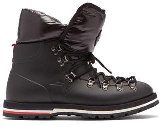 Moncler Henok Rubber Down Filled Boots - Womens - Black