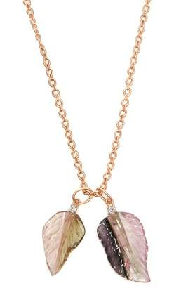 Irene Neuwirth Diamond, Tourmaline & Rose Gold Necklace - Womens - Pink