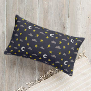 Starry Night Sky Self-Launch Lumbar Pillows