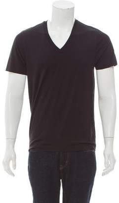 Y-3 x Adidas V-Neck T-Shirt