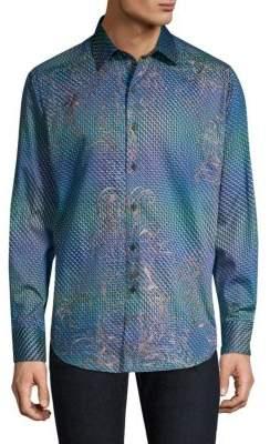Robert Graham Marsh Optic Print Shirt