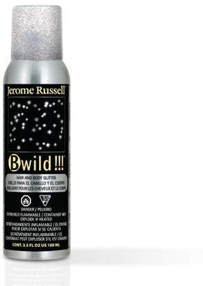 Jerome Russell B Wild Hair and Body Glitter, Silver, 3.5 Ounce by Beauty] by