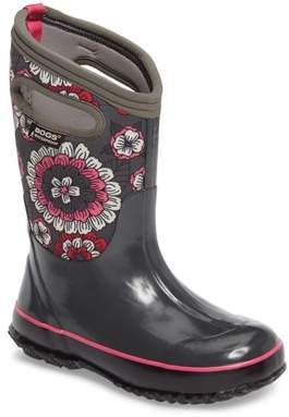 Bogs Classic Pansies Insulated Waterproof Boot
