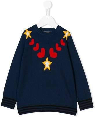 Stella McCartney intarsia knit jumper